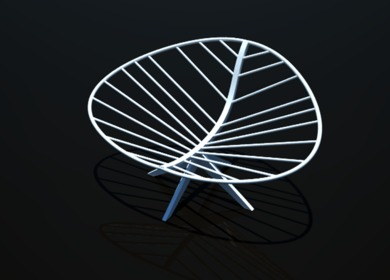 CATIA Leaf Chair