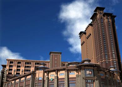 Ameristar Blackhawk Casino Resort Spa Architectural Exterior Rendering