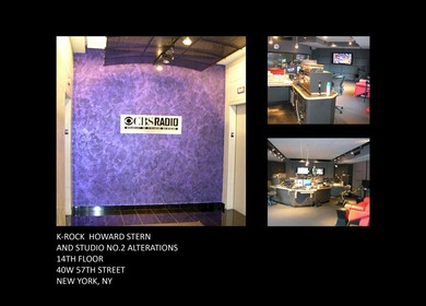 Howard Stern Studio 92.3 K-Rock, NY