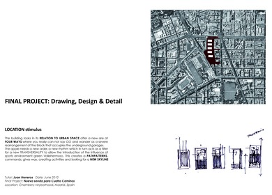 FINAL PROJECT: Drawing, Design & Detail