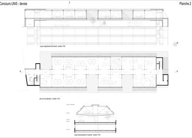 Office Building competition Lausanne