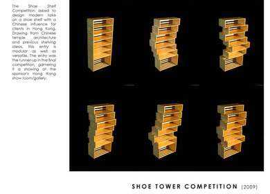 SHOE TOWER COMPETITION (2009)