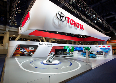 Toyota at the 2014 International CES