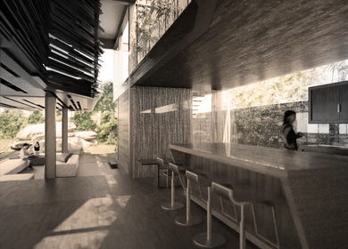 Steel House   Diffused Living