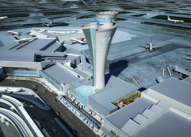 San Francisco Airport: Air Traffic Control Tower and Integrated Facility