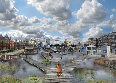 Urban Pioneers Zeeburgereiland, Amsterdam