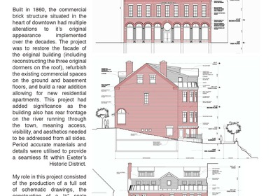 Historical Adaptive Re-Use / Commercial + Residential