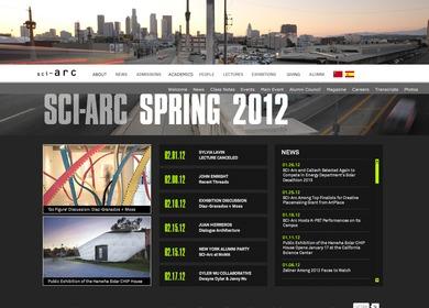 SCI-Arc Website