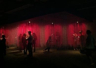 Book show installation