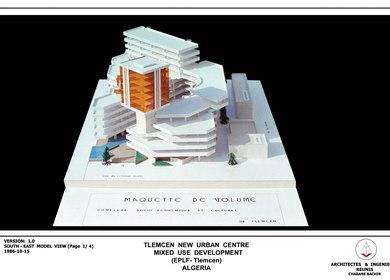 Socio Cultural Urban Centre Tlemcen (Algeria - 1986)