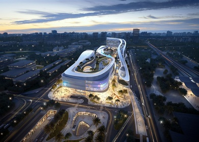 Aedas wins competition to design new tourist hub for Sanya, China