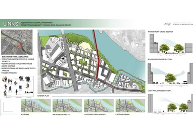 School Project: Urban Design for the Austin South Central Waterfront