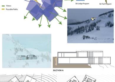 Mid-Mountain Ski Lodge