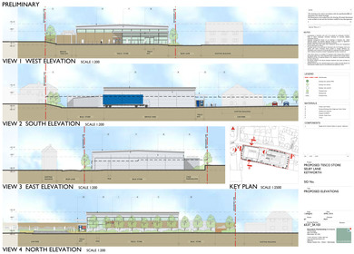 Proposed Tesco Store, Selby Lane, Keyworth