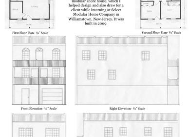 Modular Shore House Design