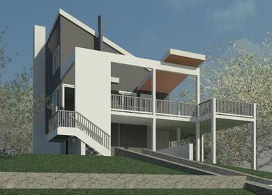 Brewster House - Clifford O. Reid Architect