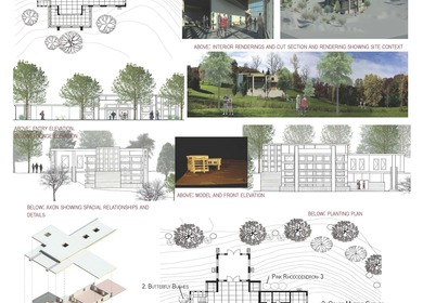 Studio design work and practice projects