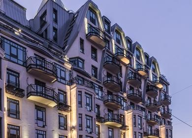 Residential House on Chapaeva Street, St.Petersburg, Russia