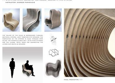 Strip[p]ed chair