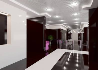 "Lobby of ""Legion 4"" Business Center"