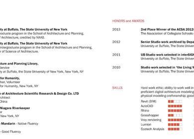 Portfolio of Work - Graduate Studio