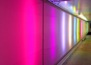 Memorial University of Newfoundland - Underground Tunnel Light Installation