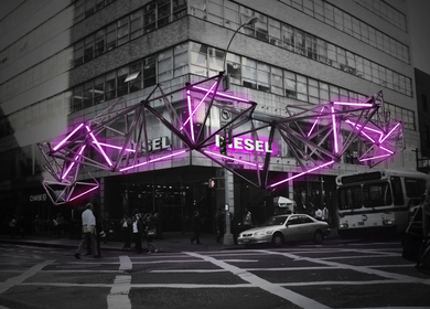 Diesel flagship store proposal