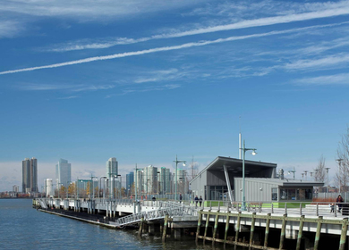 Hudson River Park Buildings, Pier 25 and 26