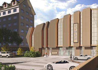 Restaurant building design