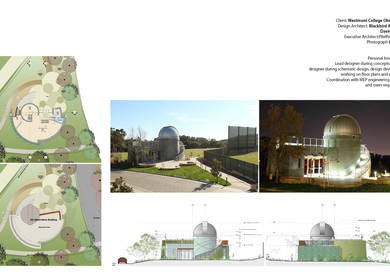 Work Sample 2- Westmont College Observatory