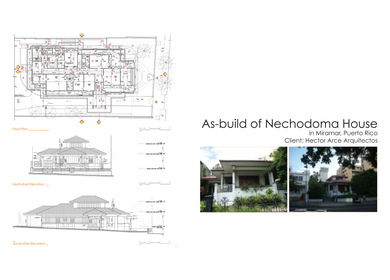 As-build Nechodoma House