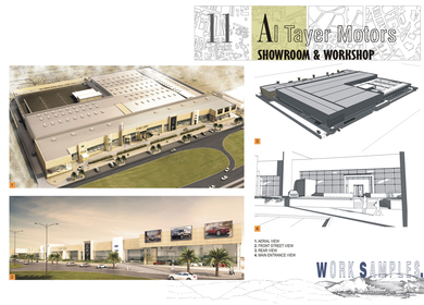 Al Tayer Motors - Car showroom and workshop