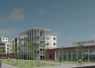 Southwest Corridor Park Conservancy Headquaters and Apartments
