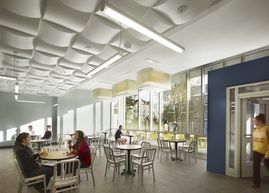 University Center Dining Expansion, Widener University
