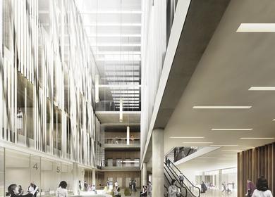 GWJ architektur - Hospital in Bern