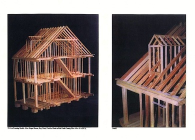 2002-03-Research/Model Making - Audubon House