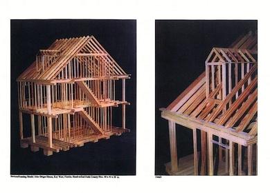 2002-03-Research/Model Making - Audubon House