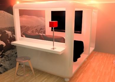 Mario Bottas San Vitale Cubic Hotel