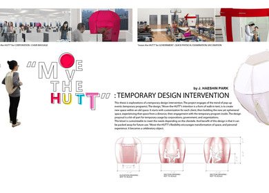 Temporary design intervention: