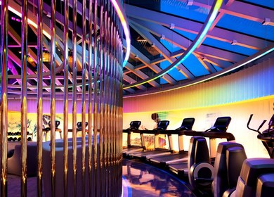 FIT Gym at W Hotel, San Francisco
