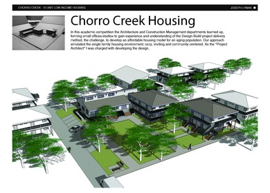 Chorro Creek Housing