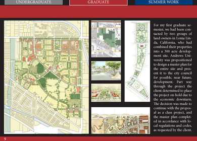 300 acre Urban Design Project