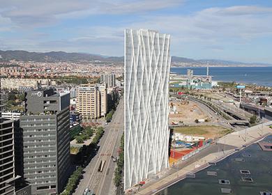 Diagonal 00 Tower. Telefónica Headquarters.