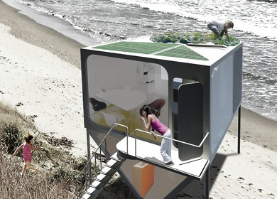 Float: An Ark House for Tsunami Relief
