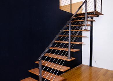 Matts Loft Staircase