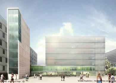 Terradas Arquitectos - Residencia Resa Campus La Salle