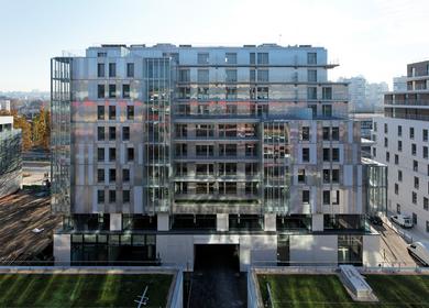 Social housing ZAC Claude Bernard