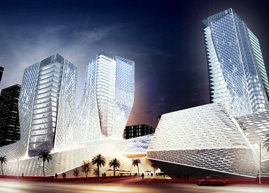 ChengDu WuZhou International Plaza for China
