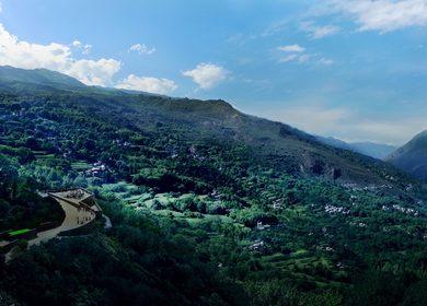Sichuan Danba Jiaju Tibetan Village Viewing Platforms