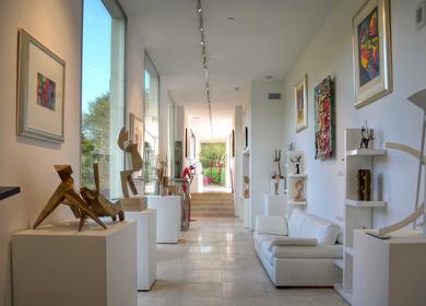 Modern Sculptors Residence